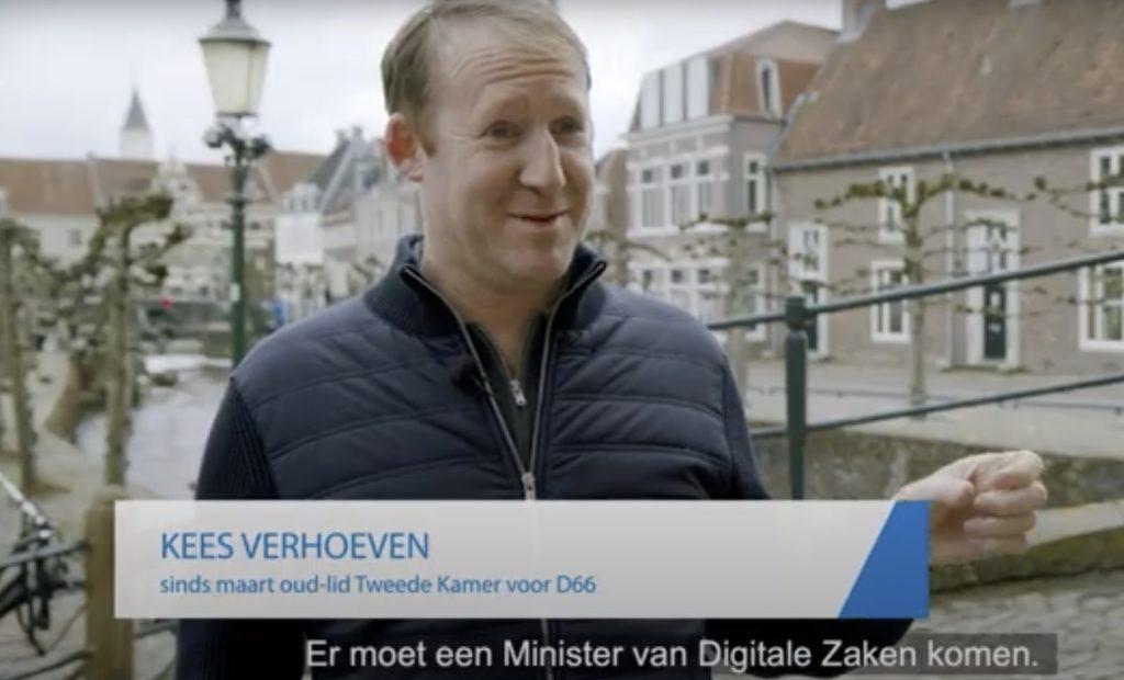 Kees Verhoeven: Er moet nu een Minister van Digitale Zaken komen.